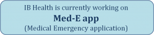 Med-E app working on announcement