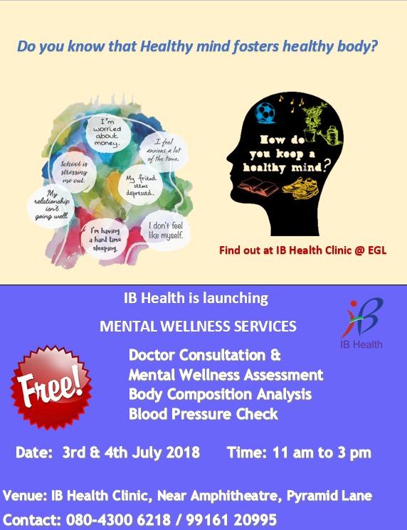 Mental wellness launch (Jul 2018)