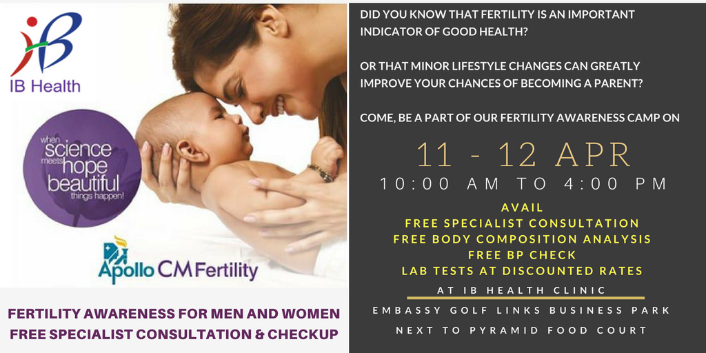 Website Whatasapp - IB Health - Apollo CM Fertility camp (Apr 2018)